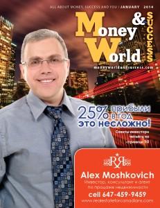 Alex Moshkovich real estate agent in Thornhill Barrie Hamilton